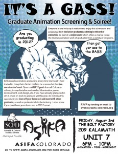 Graduate Animation Screening & Soiree