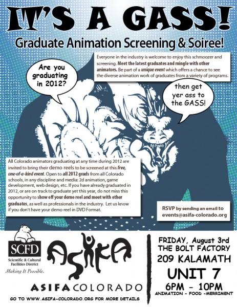 Graduate Animation Screening & Soiree