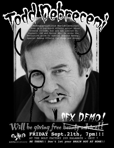 SFX Demo Flyer